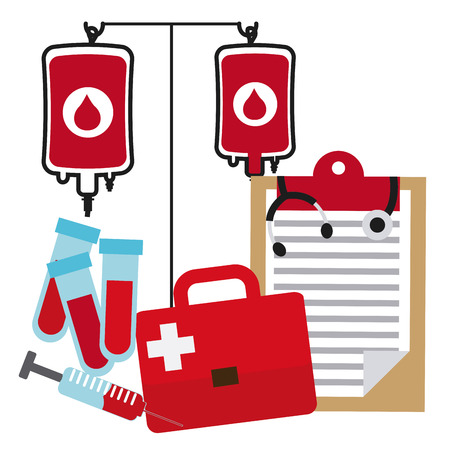 donate blood graphic design , vector illustration Vector