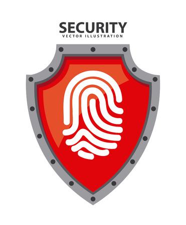 security system graphic design , vector illustration Illustration