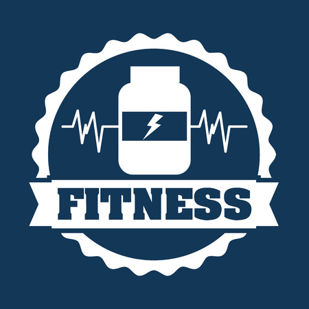bootle: healthy lifestyle graphic design , vector illustration Illustration