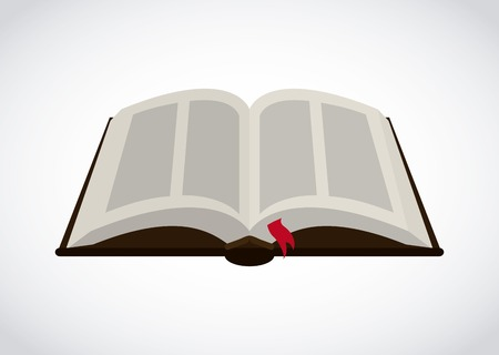 book graphic design , vector illustration Vettoriali