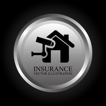 security token: insurance graphic design , vector illustration
