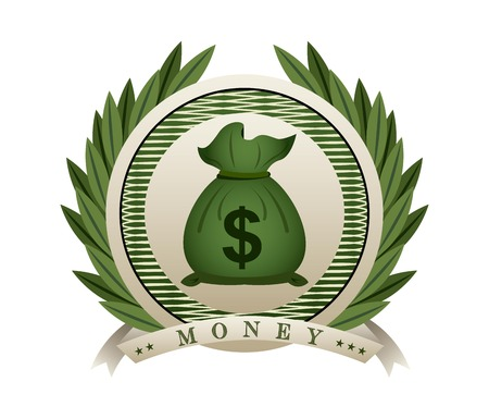 dollar bill: money design , vector illustration Illustration