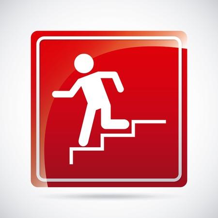 going away: emergency way design , illustration