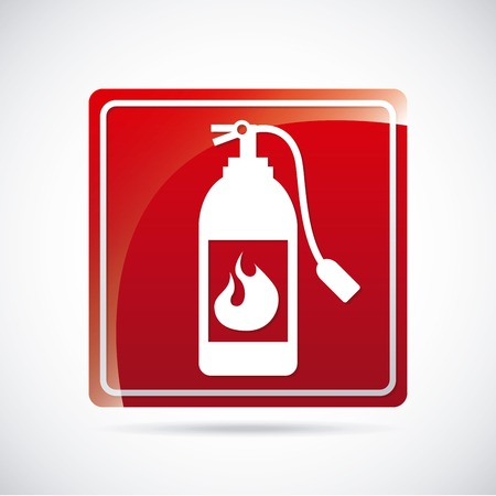 fire alarm design , vector illustration Vector