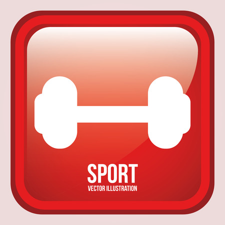 exercice: sport graphic design , vector illustration