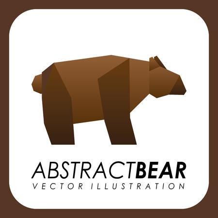 abstract animal design , vector illustration Illustration