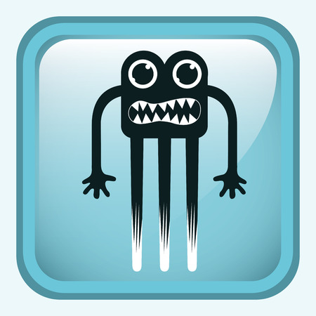 monster design , vector illustration Vector