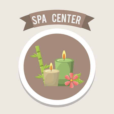 spa center design , vector illustration