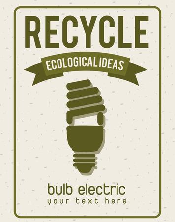 eco design , vector illustration Vector