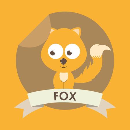 animal cute design , vector illustration Vector