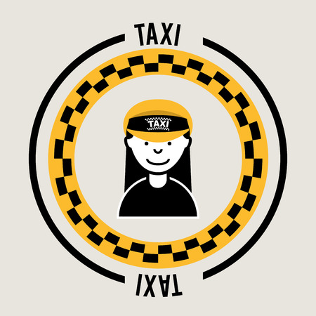 taxi service  design , vector illustration Vector