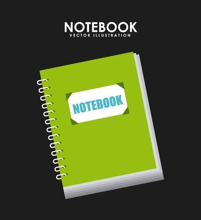 notebook design , vector illustration 向量圖像