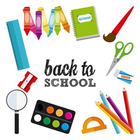 back to school kids: back to school design , vector illustration