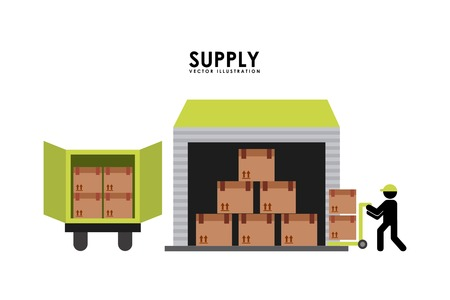 supply design illustration Vector