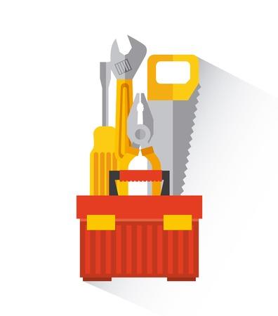 construction design , vector illustration Vector