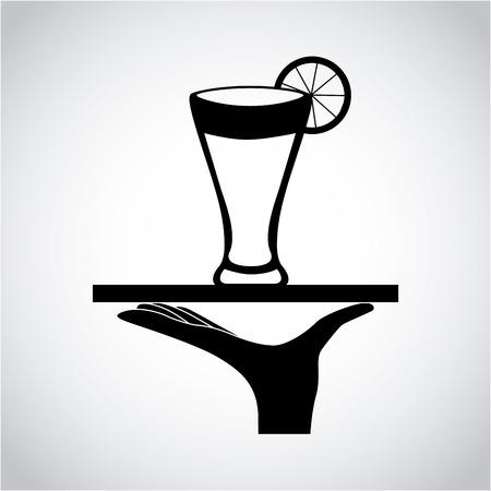 cocktail drink: cocktail drink design illustration Illustration