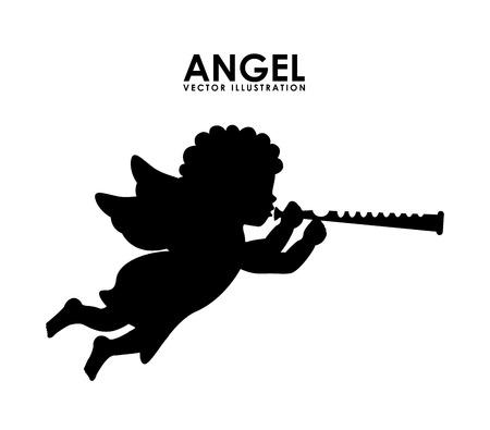 Engel Design, Vektor-Illustration Standard-Bild - 34268153
