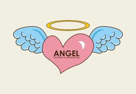 angel design illustration