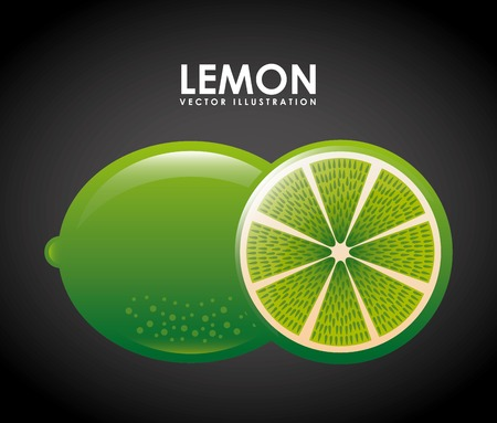 lemon fruits design