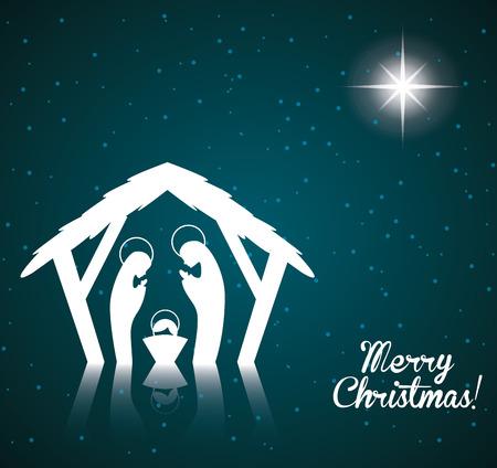 kerstmis ontwerp, vector illustratie Stock Illustratie