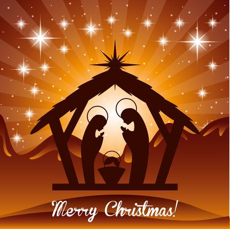 mother of jesus: christmas  design , vector illustration