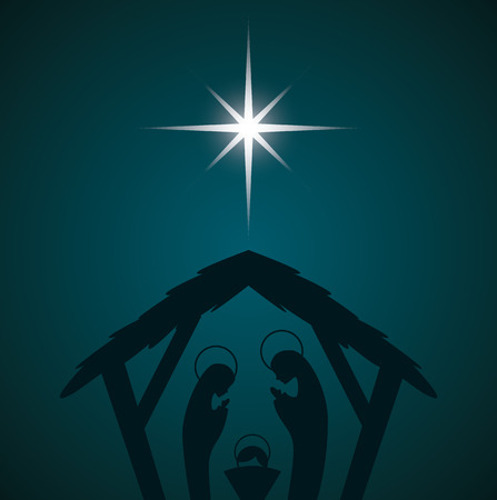jesuschrist: christmas  design , vector illustration
