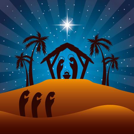 jesuschrist: christmas  design , vector illustration