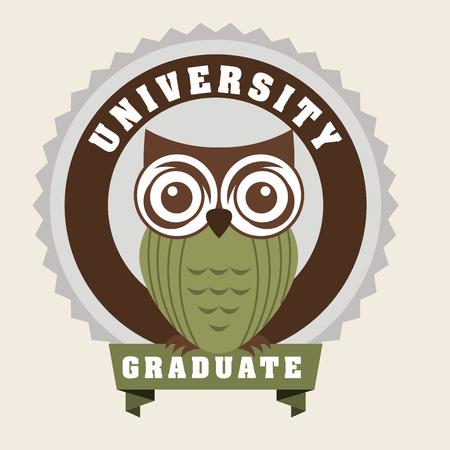 graduation ceremony: graduate design , vector illustration