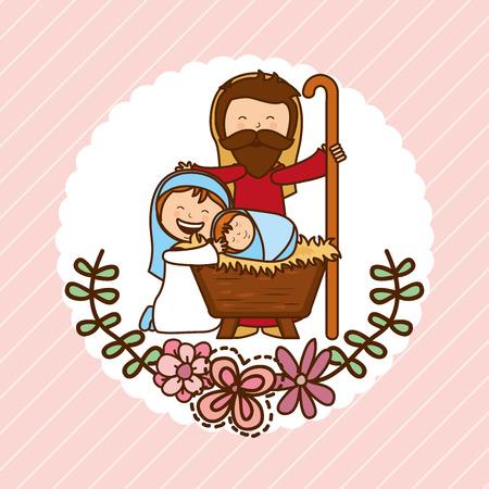 papa noel: christmas design , vector illustration