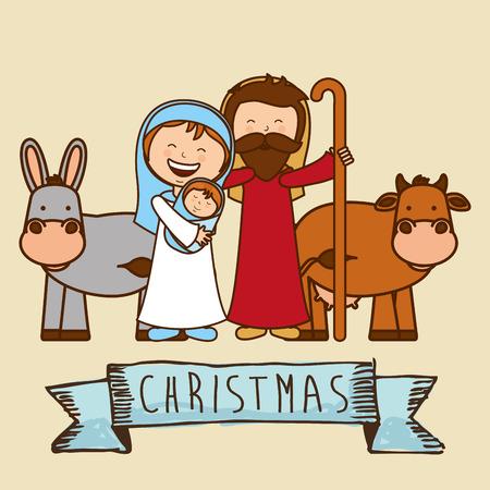 Diseño de la navidad, ilustración vectorial Foto de archivo - 34317958