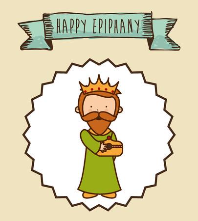 epiphany: epiphany design , vector illustration