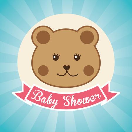 del bebé del diseño, ilustración vectorial