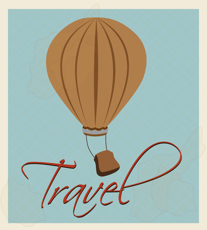 travel  design over gray background vector illustration Stock Photo