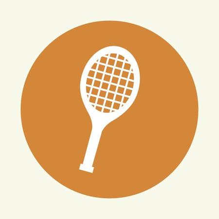 racquetball: diseño del tenis ilustración vectorial EPS10