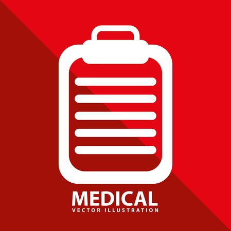 clinic history: dise�o m�dico Vectores