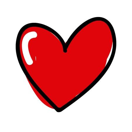 happy love: love card design Illustration