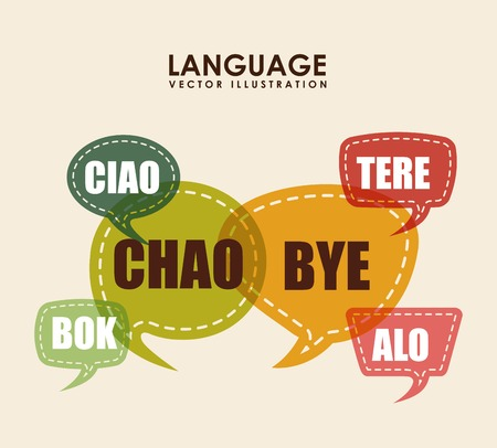 ciao: language poster design