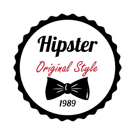 accesories: Hipster design over white background,vector illustration. Illustration
