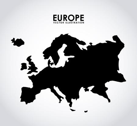europe design Ilustracja