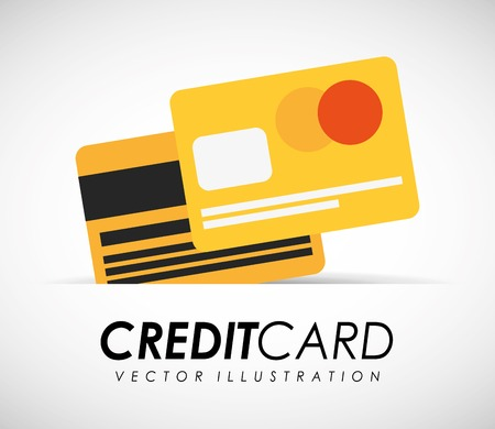 credit card Ilustrace