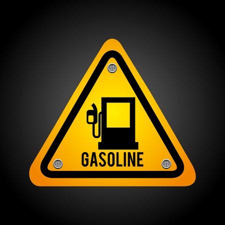 ignition: caution  signal Illustration