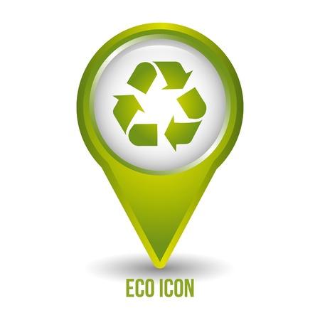 conviviale: eco friendly Illustration