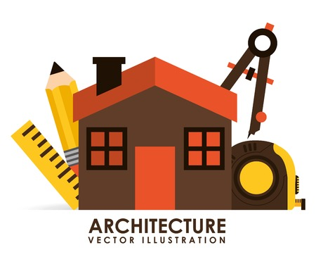 architecture: architecture icons  design, vector illustration eps10 graphic
