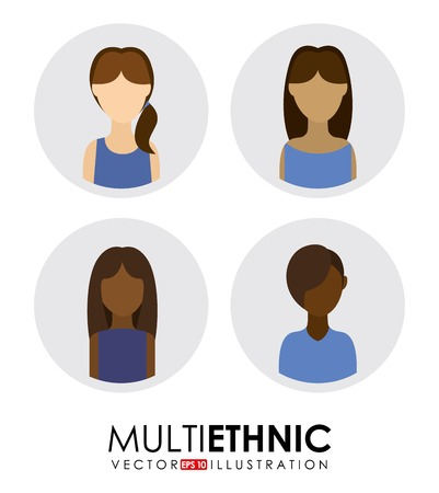 multi ethnic group: multi ethnic