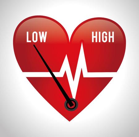 high society: Medical design over white background, vector illustration. Illustration