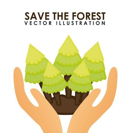 sauver la forêt