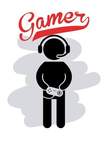 gamer: gamer icon design
