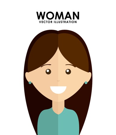 woman avatar design, vector illustration eps10 graphic Vector