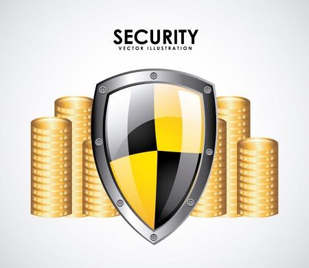 security money design, vector illustration eps10 graphic Vector