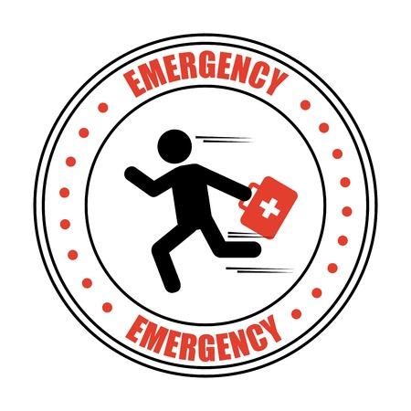 trafic: emergency icon design, vector illustration eps10 graphic Illustration